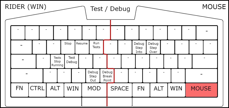 UHK Rider Windows Base Mapping